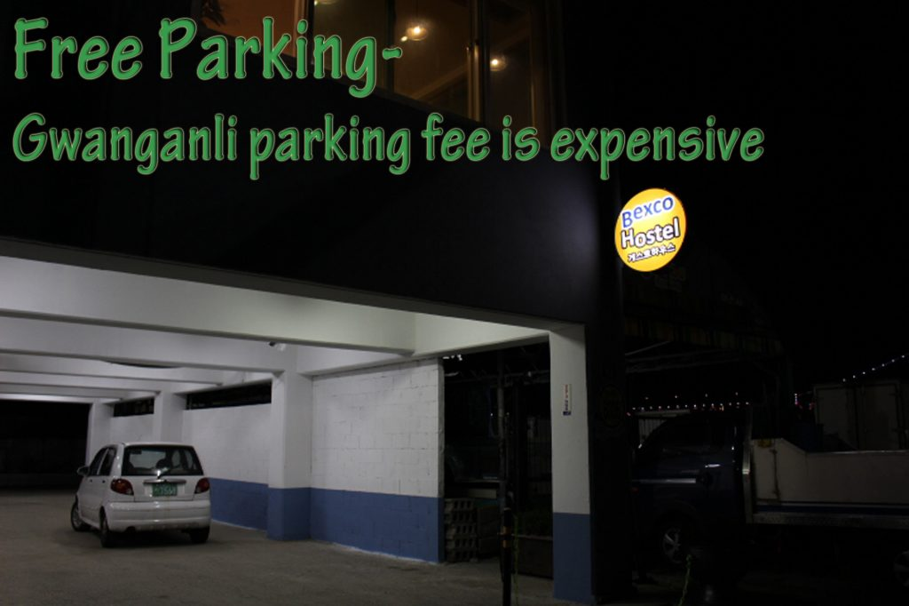 Free Parking for all guests